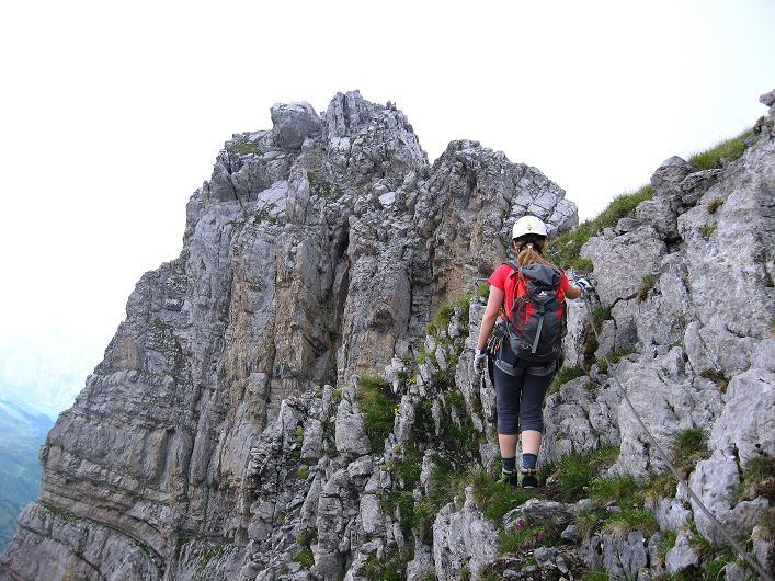 Foto: Andreas Koller / Klettersteig Tour / Klettersteig Graustock (2662 m) / 15.07.2009 23:46:23