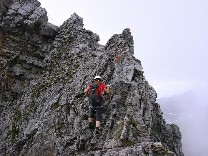 Foto: Andreas Koller / Klettersteig Tour / Klettersteig Graustock (2662 m) / 15.07.2009 23:46:12