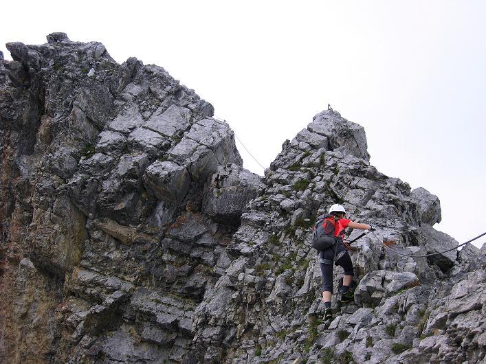 Foto: Andreas Koller / Klettersteig Tour / Klettersteig Graustock (2662 m) / 15.07.2009 23:46:05