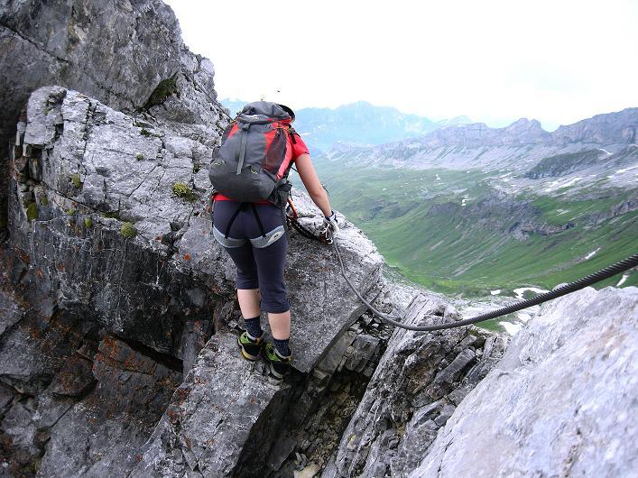 Foto: Andreas Koller / Klettersteig Tour / Klettersteig Graustock (2662 m) / 15.07.2009 23:45:51