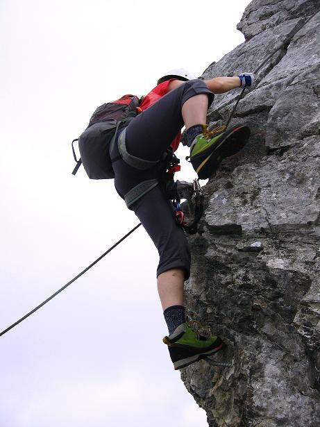 Foto: Andreas Koller / Klettersteig Tour / Klettersteig Graustock (2662 m) / 15.07.2009 23:45:34
