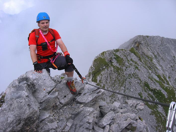 Foto: Andreas Koller / Klettersteig Tour / Klettersteig Graustock (2662 m) / 15.07.2009 23:45:26