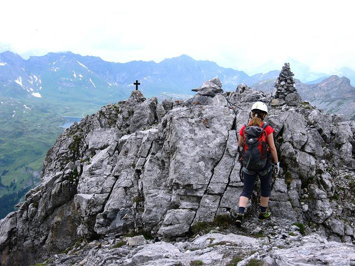 Foto: Andreas Koller / Klettersteig Tour / Klettersteig Graustock (2662 m) / 15.07.2009 23:45:15