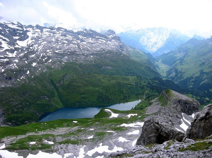 Foto: Andreas Koller / Klettersteig Tour / Klettersteig Graustock (2662 m) / 15.07.2009 23:45:06