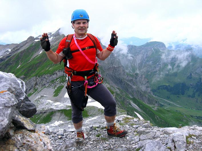 Foto: Andreas Koller / Klettersteig Tour / Klettersteig Graustock (2662 m) / 15.07.2009 23:44:15