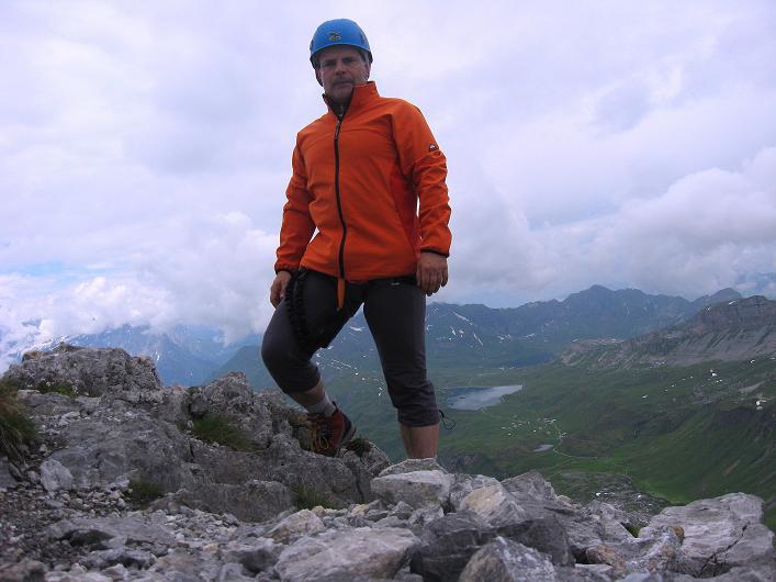 Foto: Andreas Koller / Klettersteig Tour / Klettersteig Graustock (2662 m) / 15.07.2009 23:43:36