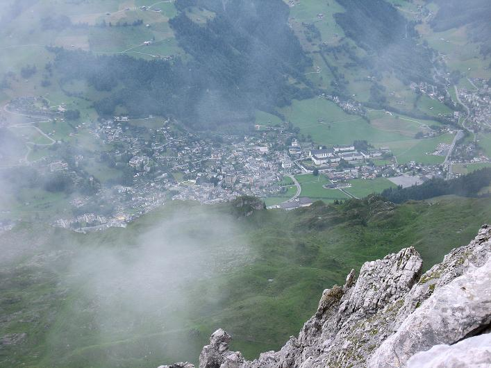 Foto: Andreas Koller / Klettersteig Tour / Klettersteig Graustock (2662 m) / Im Tal Engelberg / 15.07.2009 23:43:28