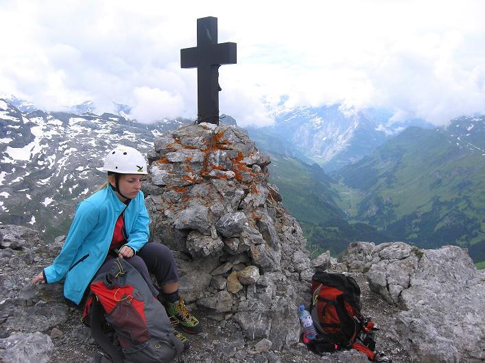 Foto: Andreas Koller / Klettersteig Tour / Klettersteig Graustock (2662 m) / 15.07.2009 23:42:56