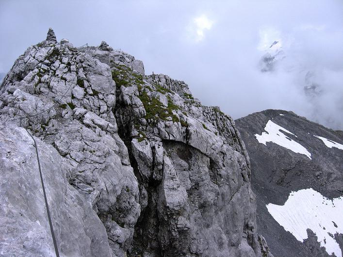 Foto: Andreas Koller / Klettersteig Tour / Klettersteig Graustock (2662 m) / 15.07.2009 23:42:36