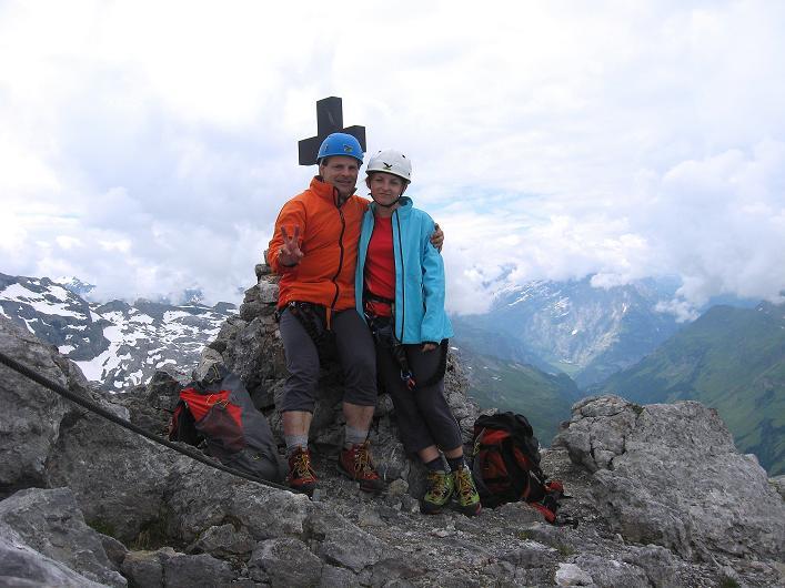 Foto: Andreas Koller / Klettersteig Tour / Klettersteig Graustock (2662 m) / 15.07.2009 23:42:27
