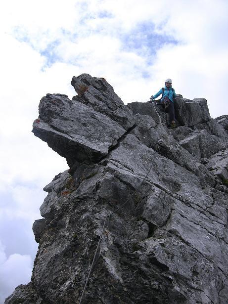 Foto: Andreas Koller / Klettersteig Tour / Klettersteig Graustock (2662 m) / 15.07.2009 23:41:55