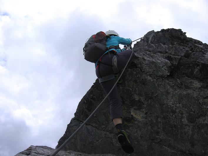 Foto: Andreas Koller / Klettersteig Tour / Klettersteig Graustock (2662 m) / 15.07.2009 23:41:46