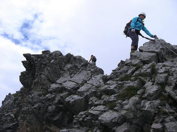 Foto: Andreas Koller / Klettersteig Tour / Klettersteig Graustock (2662 m) / 15.07.2009 23:41:38