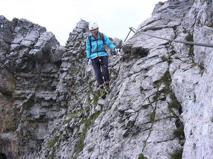Foto: Andreas Koller / Klettersteig Tour / Klettersteig Graustock (2662 m) / 15.07.2009 23:41:31