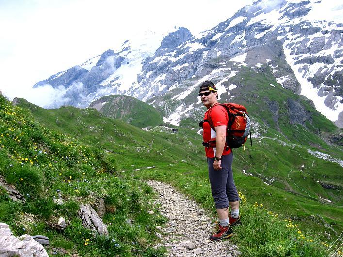 Foto: Andreas Koller / Klettersteig Tour / Klettersteig Graustock (2662 m) / 15.07.2009 23:38:46