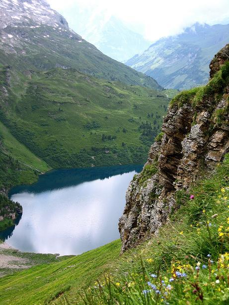 Foto: Andreas Koller / Klettersteig Tour / Klettersteig Graustock (2662 m) / 15.07.2009 23:38:01