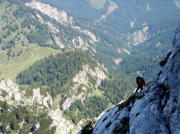 Foto: Manfred Karl / Kletter Tour / Scheffauer Nordwand Ostlerführe / 17.07.2009 18:33:28