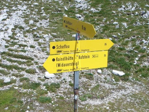 Foto: Manfred Karl / Kletter Tour / Scheffauer Nordwand Ostlerführe / 17.07.2009 18:35:46
