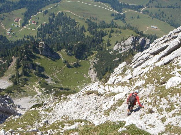 Foto: Manfred Karl / Kletter Tour / Scheffauer Nordwand Ostlerführe / 17.07.2009 18:38:06