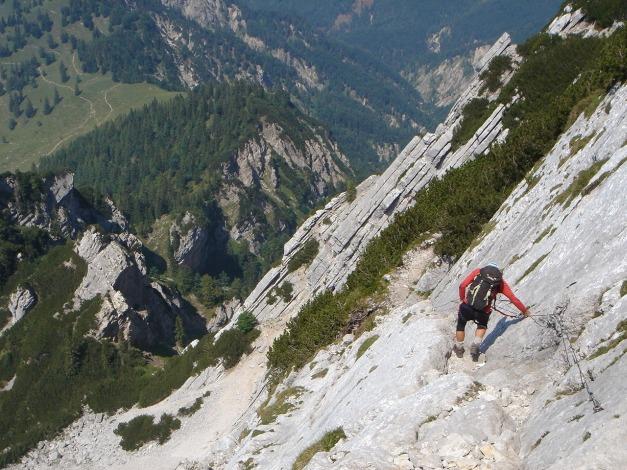 Foto: Manfred Karl / Kletter Tour / Scheffauer Nordwand Ostlerführe / 17.07.2009 18:38:48