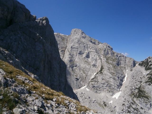 Foto: Manfred Karl / Kletter Tour / Schärtenspitze, Nordostwand / Rotpalfen / 09.11.2015 20:23:27