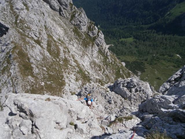 Foto: Manfred Karl / Kletter Tour / Schärtenspitze, Nordostwand / 09.11.2015 20:21:57