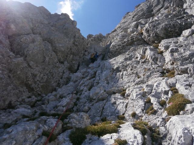 Foto: Manfred Karl / Kletter Tour / Schärtenspitze, Nordostwand / 09.11.2015 20:21:44
