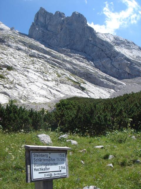 Foto: Manfred Karl / Kletter Tour / Schärtenspitze, Nordostwand / Schärtenspitze von der Blaueishütte / 09.11.2015 20:19:27
