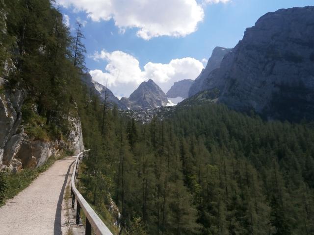 Foto: Manfred Karl / Kletter Tour / Schärtenspitze, Nordostwand / Abstieg von der Blaueishütte / 09.11.2015 20:19:10