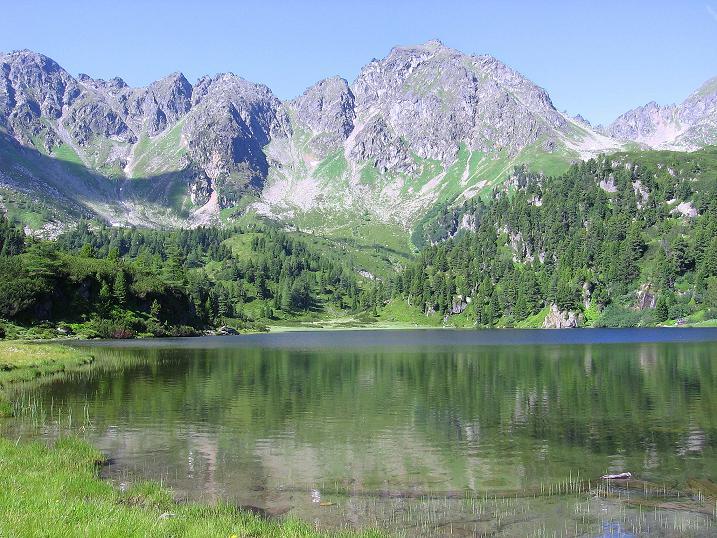 Foto: Andreas Koller / Wander Tour / Schöderkogel über S-Grat und NW-Grat (2500m) / Der Untere Zwiefler See / 18.07.2009 20:04:06