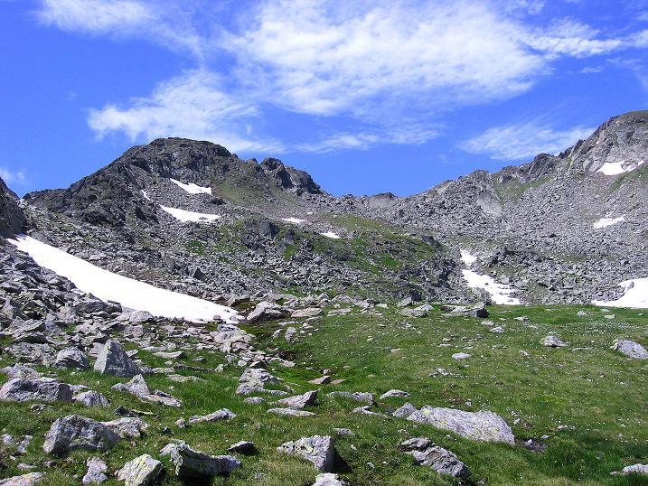 Foto: Andreas Koller / Wander Tour / Schöderkogel über S-Grat und NW-Grat (2500m) / Kar zum Grat / 18.07.2009 20:01:03
