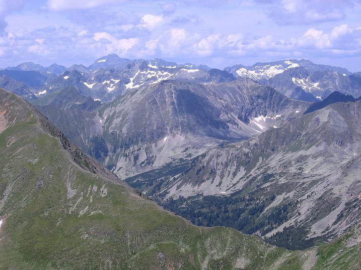 Foto: Andreas Koller / Wander Tour / Schöderkogel über S-Grat und NW-Grat (2500m) / Blick nach W / 18.07.2009 20:00:17