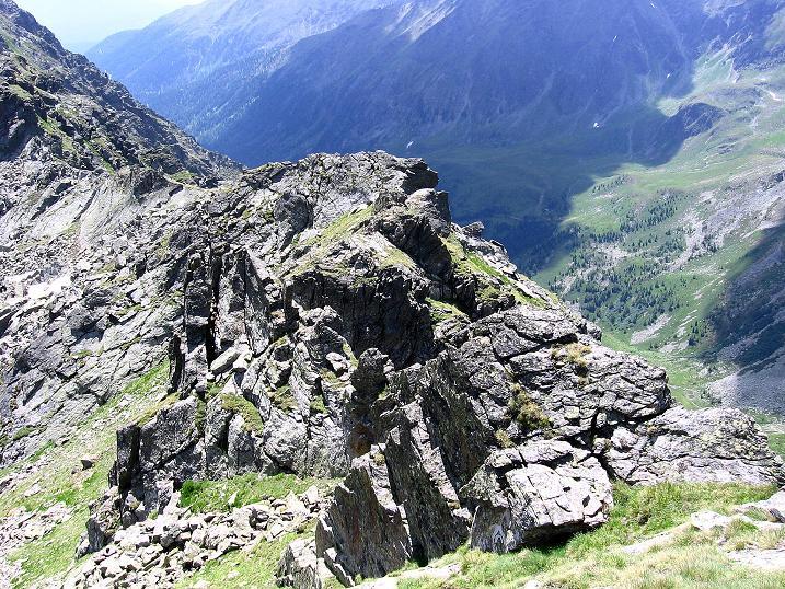 Foto: Andreas Koller / Wander Tour / Schöderkogel über S-Grat und NW-Grat (2500m) / Der S-Grat / 18.07.2009 19:59:53