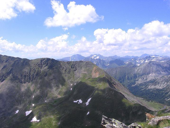 Foto: Andreas Koller / Wander Tour / Schöderkogel über S-Grat und NW-Grat (2500m) / Blick nach SW / 18.07.2009 19:55:42