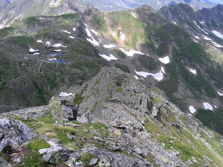 Foto: Andreas Koller / Wander Tour / Schöderkogel über S-Grat und NW-Grat (2500m) / Der N-Grat / 18.07.2009 19:55:11