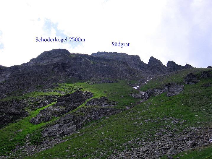 Foto: Andreas Koller / Wander Tour / Schöderkogel über S-Grat und NW-Grat (2500m) / 18.07.2009 19:51:58