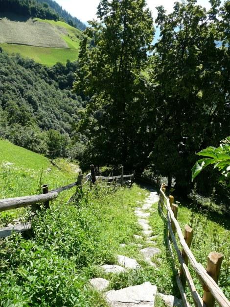 Foto: Manfred Karl / Wander Tour / Durch das Zieltal zur Lodnerhütte / 31.08.2009 15:00:22