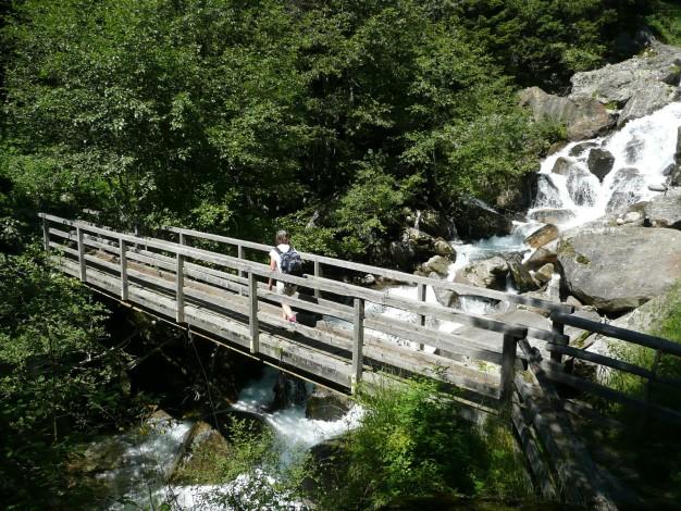 Foto: Manfred Karl / Wander Tour / Durch das Zieltal zur Lodnerhütte / 31.08.2009 15:00:10