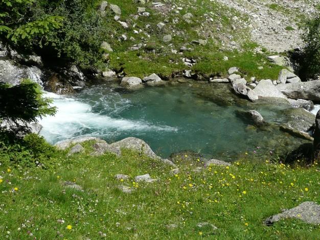 Foto: Manfred Karl / Wander Tour / Durch das Zieltal zur Lodnerhütte / 31.08.2009 14:59:01