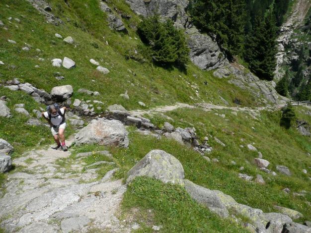 Foto: Manfred Karl / Wander Tour / Durch das Zieltal zur Lodnerhütte / 31.08.2009 14:58:25