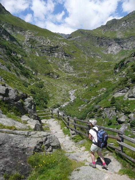 Foto: Manfred Karl / Wander Tour / Durch das Zieltal zur Lodnerhütte / 31.08.2009 14:56:58