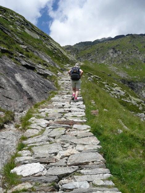 Foto: Manfred Karl / Wander Tour / Durch das Zieltal zur Lodnerhütte / 31.08.2009 14:56:47