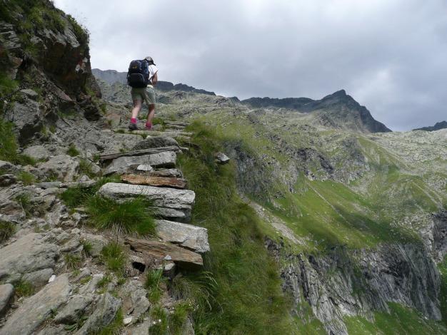 Foto: Manfred Karl / Wander Tour / Durch das Zieltal zur Lodnerhütte / 31.08.2009 14:56:21