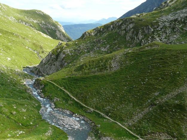 Foto: Manfred Karl / Wander Tour / Durch das Zieltal zur Lodnerhütte / 31.08.2009 14:54:50