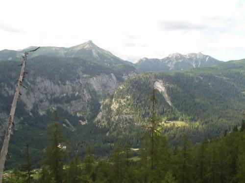 Foto: hofchri / Mountainbike Tour / Rund um den Hechlstein über Hochtor (1560 m) / Am Hochtor (1560 m) angekommen / 18.07.2009 17:10:10