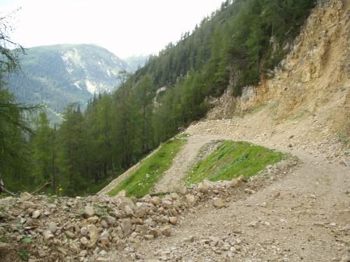 Foto: hofchri / Mountainbike Tour / Rund um den Hechlstein über Hochtor (1560 m) / sehr steiler Downhill! / 18.07.2009 17:10:32