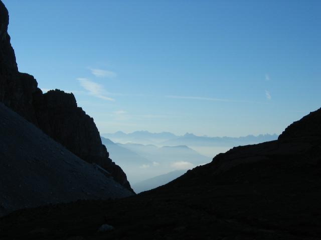 Foto: pepi4813 / Wander Tour / Hoher Zahn / Blick von der Tribulaunhütte Richtung Dolomiten / 18.07.2009 19:44:38
