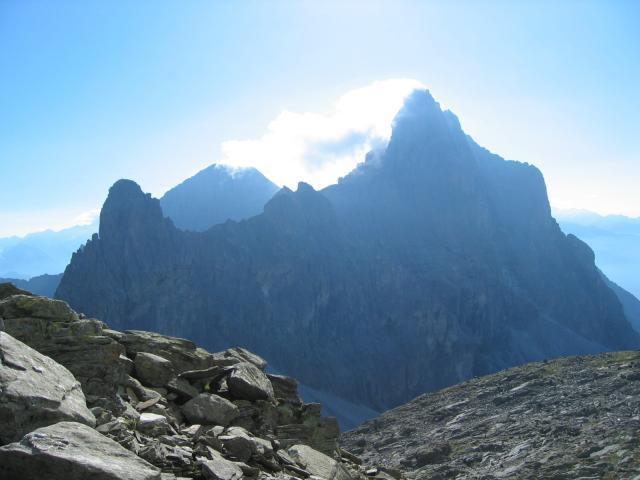 Foto: pepi4813 / Wander Tour / Von der Tribulaunhütte über die Weißwand zur Magdeburger Hütte / Blick vom Aufstiegsweg zum Pflerscher Tribulaun / 18.07.2009 20:18:22