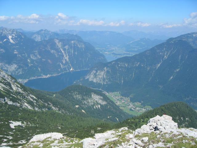 Foto: pepi4813 / Wander Tour / Von der Schönbergalm auf den Däumelkogel / Blick zum Hallstätter See / 18.07.2009 20:37:03