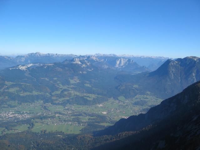 Foto: pepi4813 / Wander Tour / Über die Kalmberg Alm auf die Kalmberge / Blick vom Kalmberg ins Ausseer Land / 18.07.2009 21:10:21